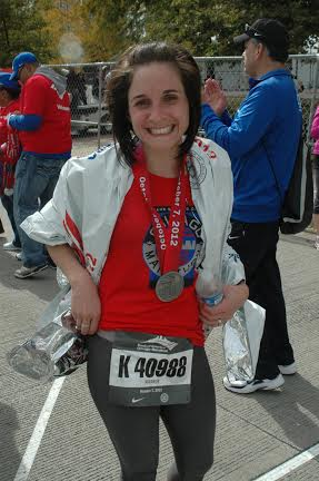 My finish in 2012.